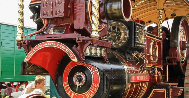 Burrell – Showmans Road Locomotive – 'The Masterpiece'.