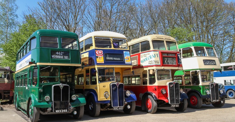 Brooklands – London Bus Museum 41st Spring Gathering