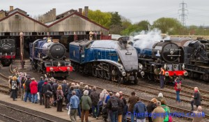 Didcot Railway Centre 06th April 2014 : Once In A Blue Moon